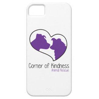 Esquina del caso del iPhone 5/5s de la amabilidad Funda Para iPhone SE/5/5s