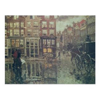 Esquina del cuadrado de Leidsche, Amsterdam Postales