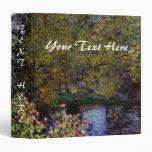 Esquina del jardín por la carpeta de Monet