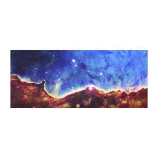 Esquina del noroeste de la nebulosa NGC 3324 de Ca Impresiones De Lienzo