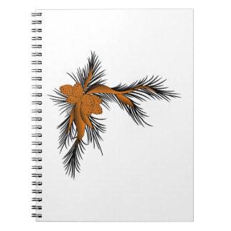 Esquina del pino cuaderno