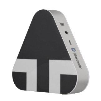 Esquina negra/gris del color (MB) Altavoz Bluetooth