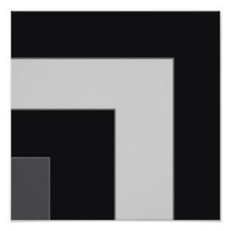 Esquina negra/gris del color (MB) Fotografías