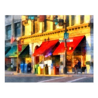 Esquina o centro y VT mercantil de Rutland Tarjetas Postales