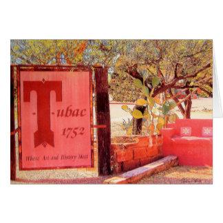 Esquinas de Tubac notecard de Tubac Arizona