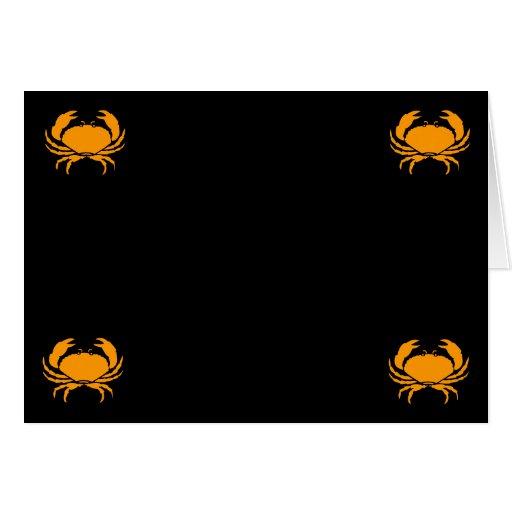 Esquinas del cangrejo cuatro de Glow_Orange del oc Tarjetón