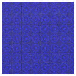Esquinas plisadas, tela Azul-Zazzle Telas