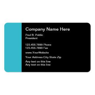 Esquinas redondeadas modernas únicas de las tarjet plantilla de tarjeta de negocio