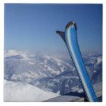 Esquís de reclinación azulejo cuadrado grande