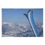Esquís de reclinación manteles individuales
