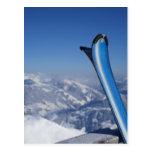 Esquís de reclinación postal