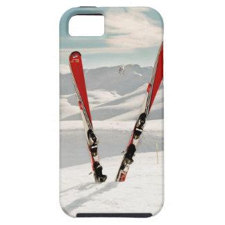 Esquís rojos iPhone 5 carcasas