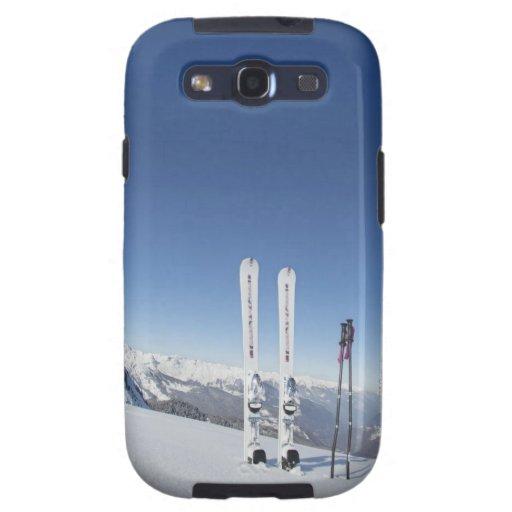 Esquís y esquí postes galaxy SIII coberturas