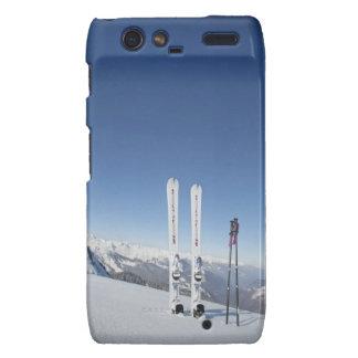 Esquís y esquí postes motorola droid RAZR fundas