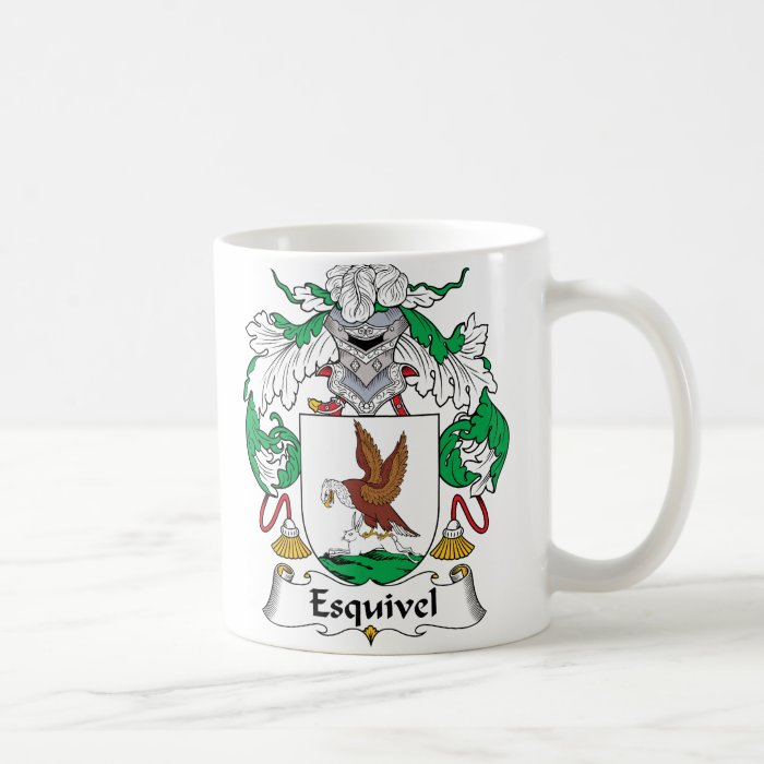 Esquivel Family Crest Coffee Mug