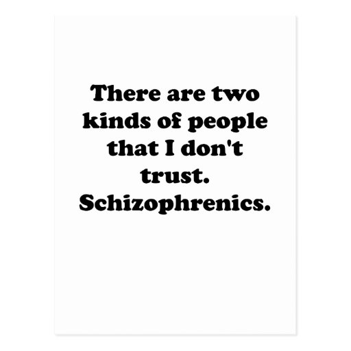 Esquizofrenicos Postal