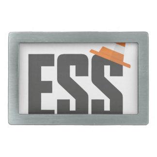 Ess_Cone Rectangular Belt Buckle