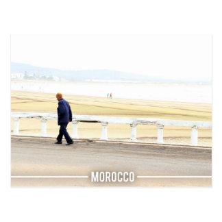 Essaouira Beach, Morocco Postcard