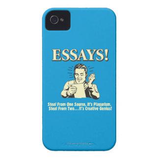 Essays: Steal 1 Plagiarism 2 Genius Case-Mate iPhone 4 Case