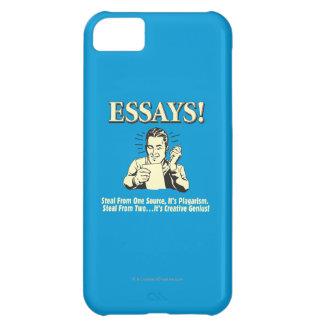Essays: Steal 1 Plagiarism 2 Genius iPhone 5C Case