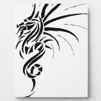 Essemios - furious dragon plaque