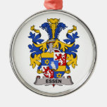 Essen Family Crest Christmas Ornaments