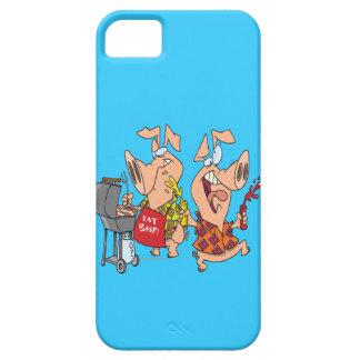 essen Sie BBQing Grill des Rindfleisches lustige S iPhone SE/5/5s Case