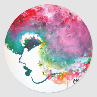 Essence Classic Round Sticker