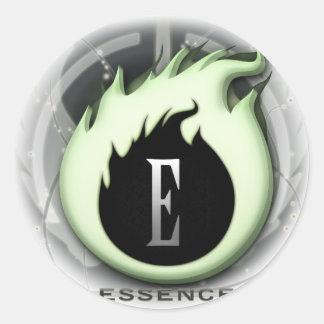 Essence Logo Classic Round Sticker