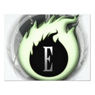 Essence Logo 4.25x5.5 Paper Invitation Card