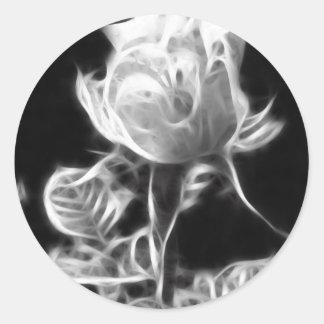 Essence of a Rose 1 Classic Round Sticker