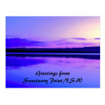 Essence of Calm 2, Greetings from Sanctuary Poi... Postcard