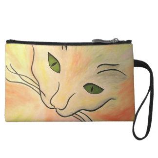Essence of Cat Wristlet Wallet