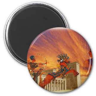 Essence of Egypt 2 Inch Round Magnet