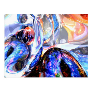 Essence of Inspiration Abstract Postcard