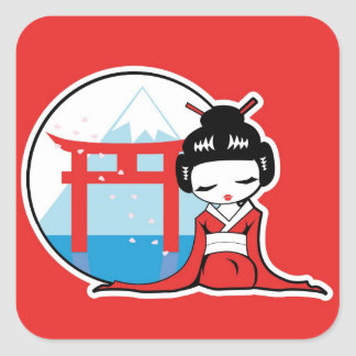 Essence of Japan Square Sticker