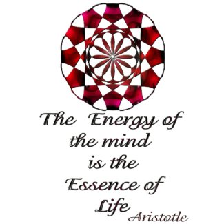 *Essence of Life* -Aristotle Quote magnet