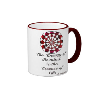 *Essence of Life* -Aristotle Quote Coffee Mugs