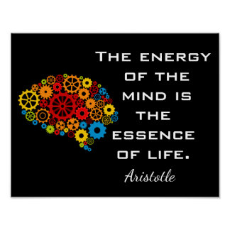 Essence of Life -- Art Print - Aristotle quote