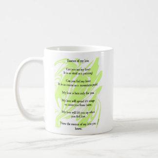 Essence of my love coffee mug