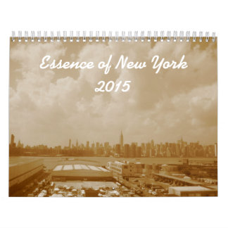 Essence of New York 2015 Calendar