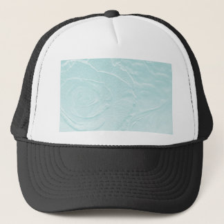 Essence of Rose: Blue/Green Trucker Hat