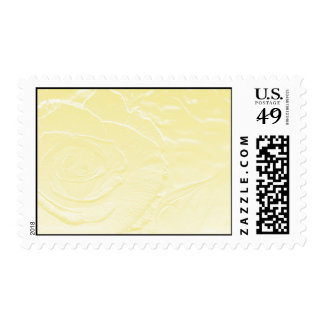 Essence of Rose: Yellow Postage Stamps