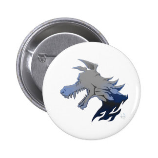 Essence of Wolf Pinback Button