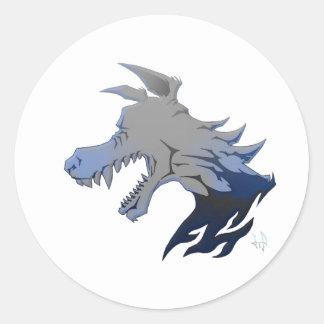 Essence of Wolf Classic Round Sticker