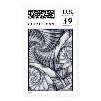 """Essence"" Postage Stamp Stamps"