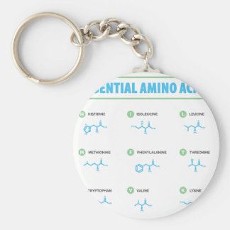 Essential Amino Acids Keychain