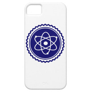 Essential Blue Atomic Model Seal Case For iPhone 5/5S