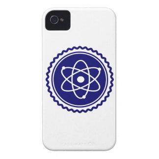 Essential Blue Atomic Model Seal iPhone 4 Case-Mate Cases