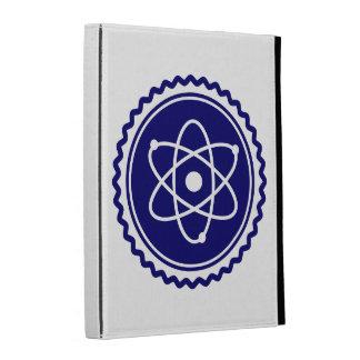 Essential Blue Atomic Model Seal iPad Folio Covers